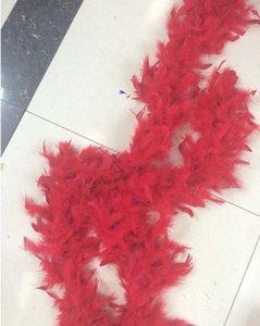 Boas de plumas blancas Turquía Pluma Boa grande Chandelle Marabou Feather Boa Ceremonia de boda Boas Blanco Rosa Naranja Jllfdj MX_HOME