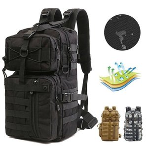 Top Quality Outdoor Sports Tactical Backpack For Camping Hiking Climbing Men's Backpack Nylon Bag Double Shoulder Bag