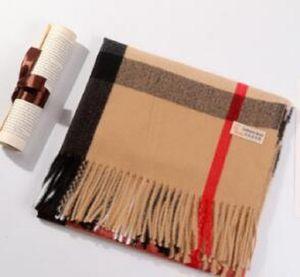 2020 зимний кашемировый шарф высококлассный мягкий толстый кашемир шарф мода мужская и женская шарф 180 * 70см