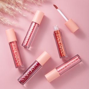 vmae 고품질 10 색 진주 빛 촉촉한 립글로스 립 밤 립스틱 방수 천연 모이스처 라이저 지속되는 보습 립글로스