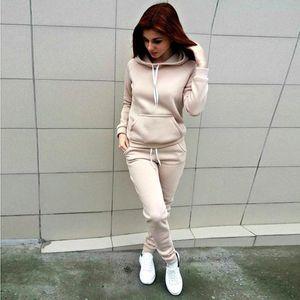 ellesse Bayan Eşofman Patchwork Hoodies ve Pantolon Sonbahar Kış Kazak Kapüşonlu Uzun Kollu Çizgili Kazaklar Yeni Bestox42A Tops