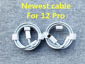 Cable de cargador rápido de calidad OEM original Cable PD 1M 3FT 2M 6FT USB-C a 11pro Cable para 12 Pro Max con caja nueva