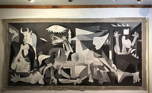 Pablo Picasso Guernica - arte de la pintura del siglo XX Decoración óleo sobre lienzo Arte de pared Cuadros lienzo 201116
