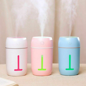 Projector Lamp Humidifier Mini Ultrasonic Essential Oil Diffuser Air Purifier #25
