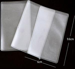PVC soft Frost Top Loader Card Holder 6X9.6cm
