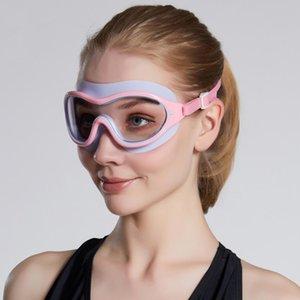 1 Pc Swimming Glasses Professional Anti Fog Uv Protection for Men Women