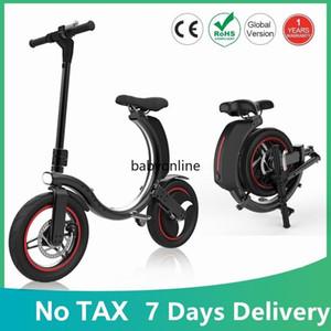 EU-Aktien 7 Tage Lieferung Keine Steuer-Falten Elektrische Fahrrad-Roller Zwei-Rad-Zubehör Elektrischer Fahrrad-Kick-Roller Bicicleta Electrica MK114