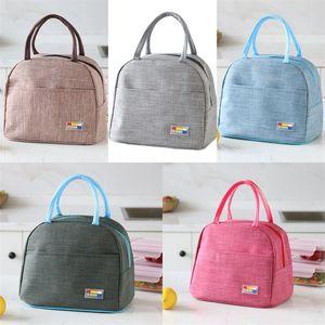 Tin Foil Fresh Keeping Thermal Insulation Bag Three-Dimensional Handbag Portable Outdoors Tour Bento Bags Fashion 6 5yd J1