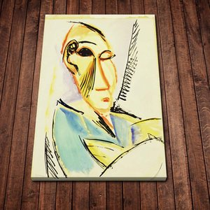 Canvas Painting Wall Head of A Medical Student Picasso Posters and Prints Wall Pictures for Living Room Decoration Home Decor