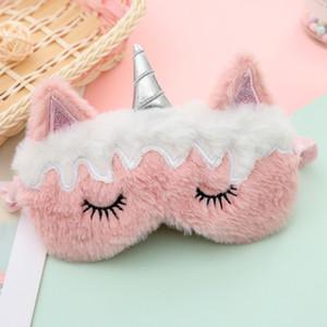Unicorn Sleep Máscaras Adultos Descansar Máscara Máscara Sombra Capa Relaxar Acessórios Acessórios Vision Care Articals 2020