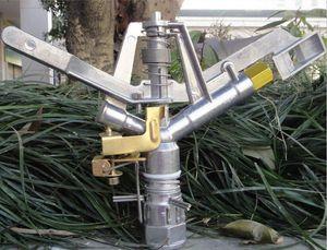 DN25 Adjustable rocker nozzle Zinc alloy Garden water gun irrigation sprinkler