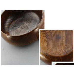 1pc natural jujube wooden bowl soup rice noodles bowls kids lunch box kitchen tableware for baby feeding food conntainers lc 005 cOHPf
