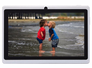Wholesale-7inch Allwinner A33 Tablets Dual Core Google Android 4.2 Tablet PCs 8GB Dual cameras WiFi 1.5GHz Free