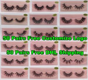 Dropshipping 3D Mink Eyelashes Faux False Eyelashes 3D Mink Lashes Soft Eye Extension Makeup Fake Eye Lashes 3D Eyelash Free Customize Logo