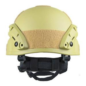 Qualité léger Fast Airsoft MH Casque d'extérieur Painball tactique extérieure CS Swat Equitation