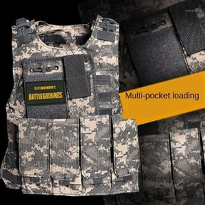 Children Army Tactical Combat Vest Outdoor Hunting Plate Carrier Waistcoat Vests Kids Camo Uniform Sleeveless1