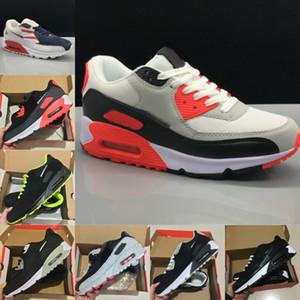 2021 جديد 90s الأحذية الرياضية رخيصة 90 الرجال النساء أسود أبيض الأشعة تحت الحمراء recraft رويال دنهام أحذية رياضية كلاسيكي المصممين الأحذية X693