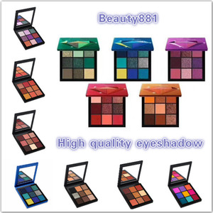 palette version eyeshadow Shimmer Correct Pigmented TOPAZ 9 colors RUBY makeup AMETHYST eye shadow SAPPHIRE EMERAL Make up Palette