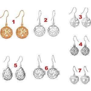 Eudora Pregnancy Ball Earrings Special Design Brass Metal Women 12mm Harmony Bola Cage Earring Dangle Earring Brinco De Bola