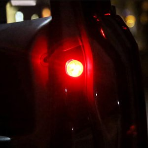 2PCS Car Accessories LED Emergency Lights Auto Lighting Warning Sign Easy Convenient for Safety Door Open