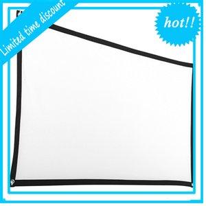 HD-экран 120 дюймов, Home Facing Canvas Front Projection Projector, складной экран высокой яркостью, 16: 9