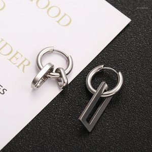 Stainless Steel Titanium Steel Earrings for Men Punk Jewelry Accessories Wholesale1