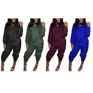 Champions Women brand 2 piece set fall winter clothes jogger sweashirt pants tracksuit hoodies leggings outfits outerwear bodysuits 0567