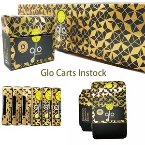 GLO Cartridges Packaging Vapes Carts 510 Thread Carts Disposable Vape Pen 0.8ml-1.0ml Thick Oil Cartridges instock Empty E Cigarettes
