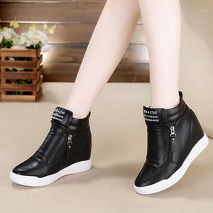 Lhcgy saltos altos sapatos mulher fashion figura mulheres sapatilhas mocassins plataforma sapatos zapatos mujer feminino outono 68851