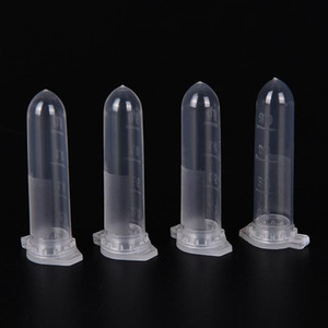 200pcs Micro Centrifuge Tube Test Tubing Vial Clear Plastic Vials Container Snap Cap For Sample Specimen Laboratory Supp bbyhpe