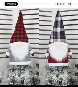 2020 Commercio transfrontaliero transfrontaliero natalizio decorazioni natalizie foresta anziano albero top stella creativo bambola antidolorifico albero di Natale cappello decorazione della casa