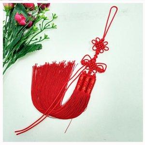 1PCS NOUVEAU Style Chinois Knot Pendentif Pendentif DIY Bijoux Home Rideau Textile Vêtements Accessoires Décoratifs Craft Tassels H Jllotd