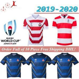 2019 2020 Japan Rugby-Jerseys Home Rugby Jersey 19 20 Japan-Weltmeisterschaft NRL National Rugby League Hemden Polo Top Qualität S-3X Mayorista