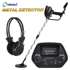 Detector de metal MD-4030 Underground Gold Detector Metal Length Ajustável Treasure Seeescer Portable MD4080