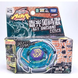 takara tomy beyblade BB71 Ray Unicorno D125CS + Launcher japan versions Q1121