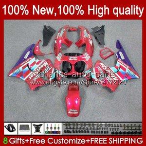 Body For HONDA CBR893 CBR 893RR 900RR 900 893 RR 94HC.133 red glossy CBR893RR 89 90 91 92 93 CBR900RR 1989 1990 1991 1992 1993 Fairing kit