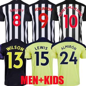 20 21 Wilson Ritchie Futbol Formaları Ev Uzakta Üçüncü Almiron Joelinto 2020 2021 Lewis Lascelles Shelvey Futbol Yedlin Gömlek Erkekler Kids Kiti