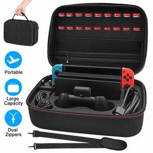 حمل حقيبة سفر بطاقة الصعب التبديل قفص الاتهام وحدة التخزين Nintendo حالة ل EVA KJHUG