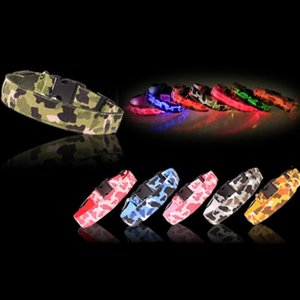 LED Dog Collar Night Safety Flashing Glow Pet Dog Cat Collar With USB Cable Charging Dogs Accessory USB Rechargeable