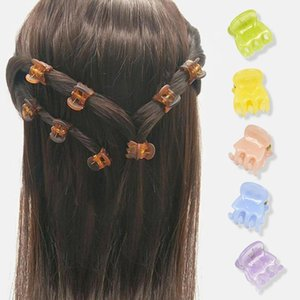 Clipes de cabelo Barrettes 12 pcs caranguejo clip clip garotas Scrunchie para mulheres Headband Diademas para El Pelo Mujer Presilha de Cabelo Hairpin1
