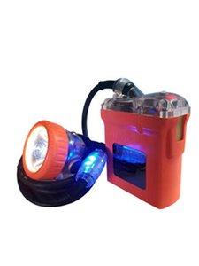 꼬리 빛으로 광부 램프 충돌 회피