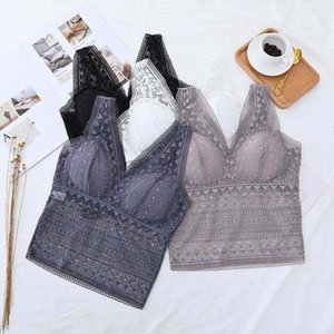Lingerie Feminina Lace Camisole Top Sexy Camisoles Fashion Female Lingere Removable Pad Women's Intimates Underwear & Sleepwears