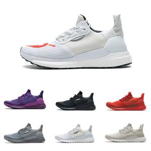 Erkek PHARRELL WILLIAMS Güneş Love Hu Mor Glide Kırmızı Çekirdek Siyah Eğitmenler Krem Beyaz Gri Koşu Ayakkabıları Hafif Yumuşak Sneakers