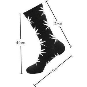 men sock christmas plantlife cotton socks skateboard hiphop maple leaf women fashion sport socks 33 Colors