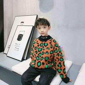 Çocuk Kazak Kazak T-shirt Sonbahar Kış Giyim 2020 Yeni Kore SL Baz Coat Boys