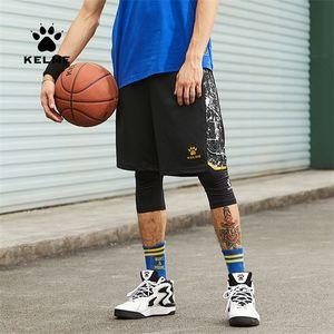 Kelme Herren Outdoor Sports Basketball Fußball Training Freizeit Shorts Lose Atmungsaktive Strand Shorts 3591347 Q1202