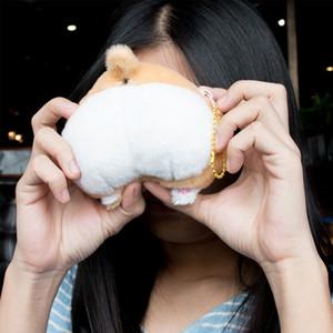 Hot New 15cm Cute Cartoon Corgi Butt Ass Coin Purse Bag Wallet Children Pet Dog Plush Doll Toys Gift for Kids