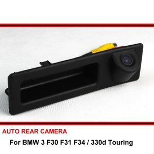 For 3 F30 F31 F34 330d Touring 12~15 HD CCD Car Reverse Backup Rearview Parking Rear View Camera Night Vision For SONY