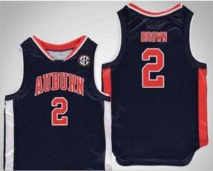 Rare personnalisé hommes jeunes femmes Vintage Tigers # 2 Bryce Brown College Basketball Jersey Taille S-5XL ou personnalisée N'importe quel nom de nom ou numéro de numéro