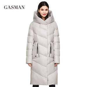 GASMAN Fashion brand down parkas Women's winter jacket women's coat new long thick outwear warm Female jacket plus size 206 201119